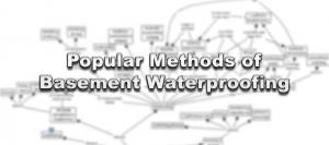 Popular Methods of Basement Waterproofing